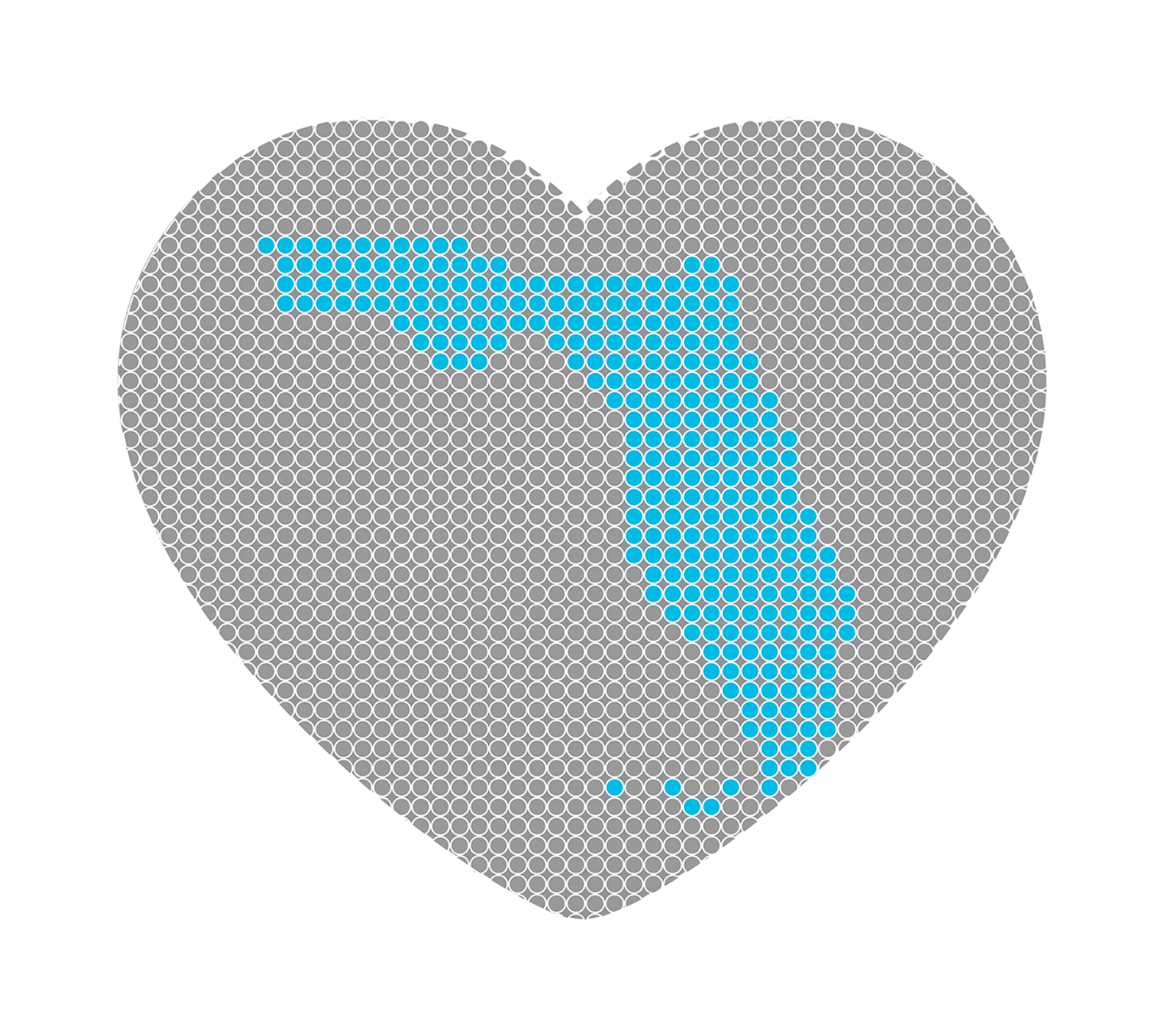 Florida encapsulated by a heart