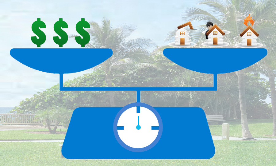 Balancing costs and saving money on home insurance