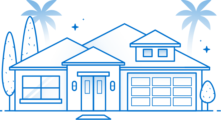 A Florida home with no damage