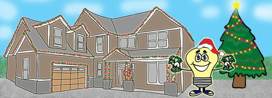 Saving energy with holiday lights